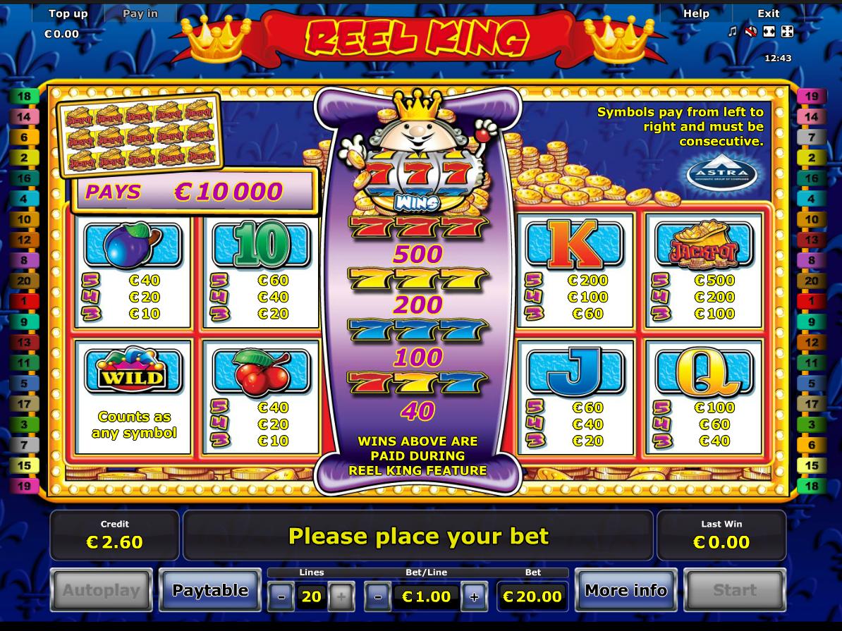 Reel King online kostenlos