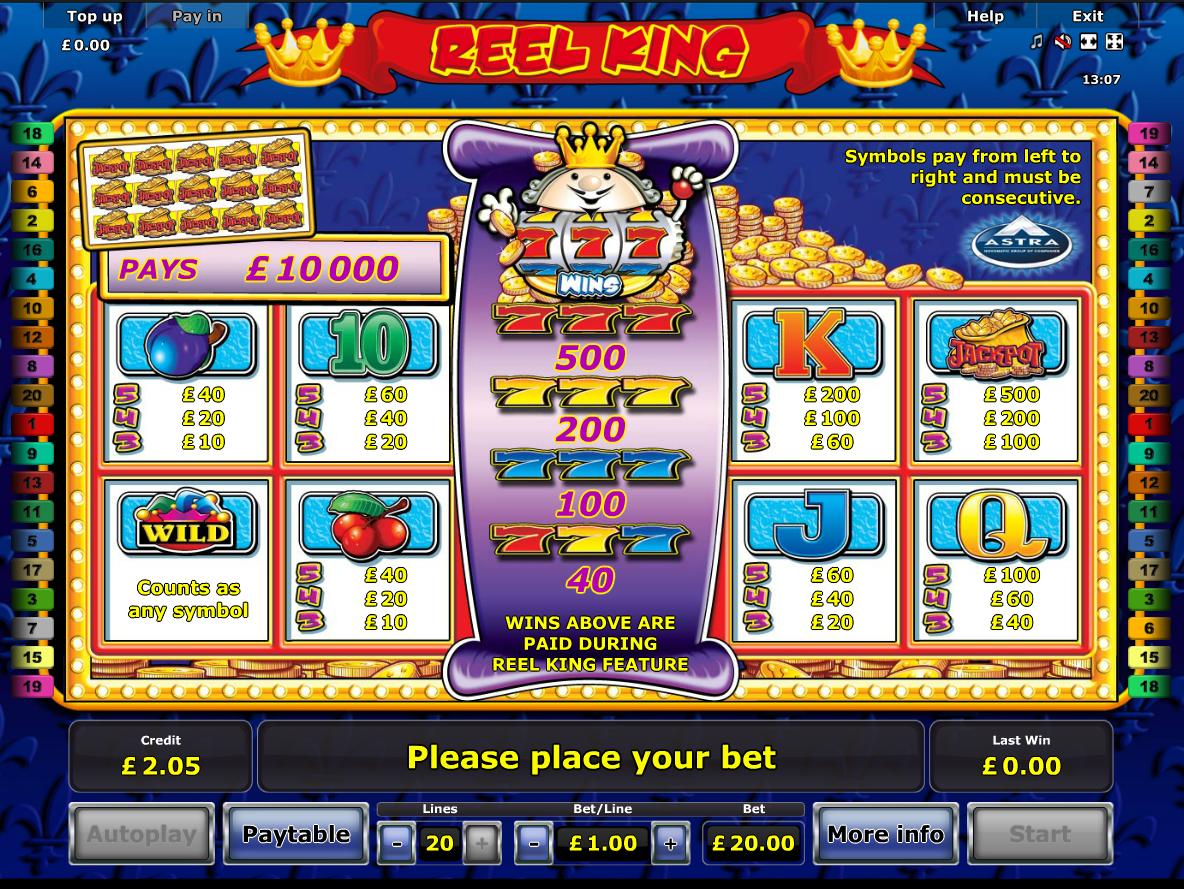 Reel King online free