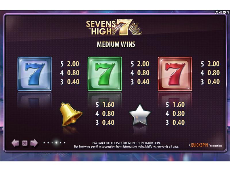 Sevens High online gratis