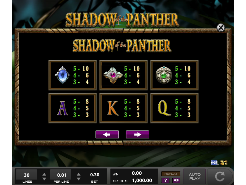 Shadow of the Panther online gratis