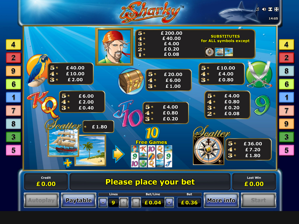 Sharky online free