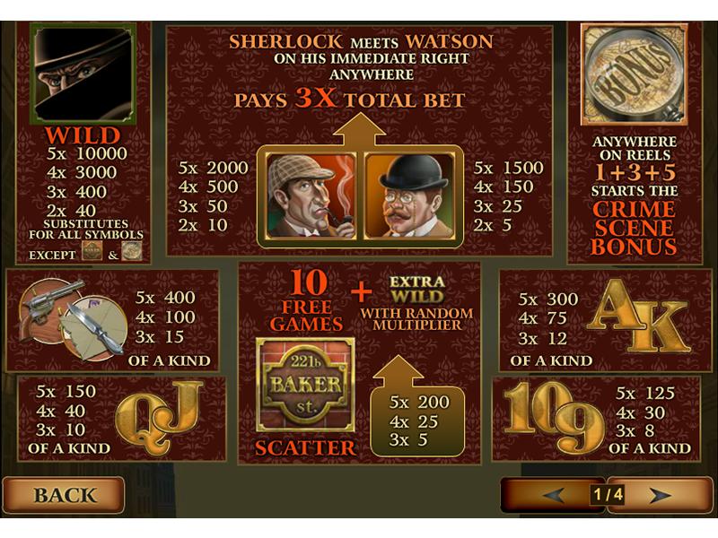Sherlock Mystery online free