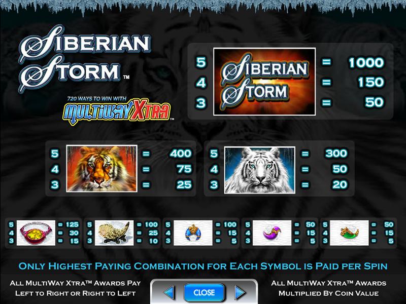 Siberian Storm online gratis