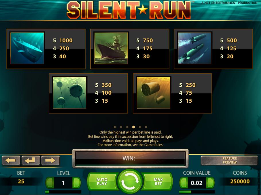 Silent Run online kostenlos