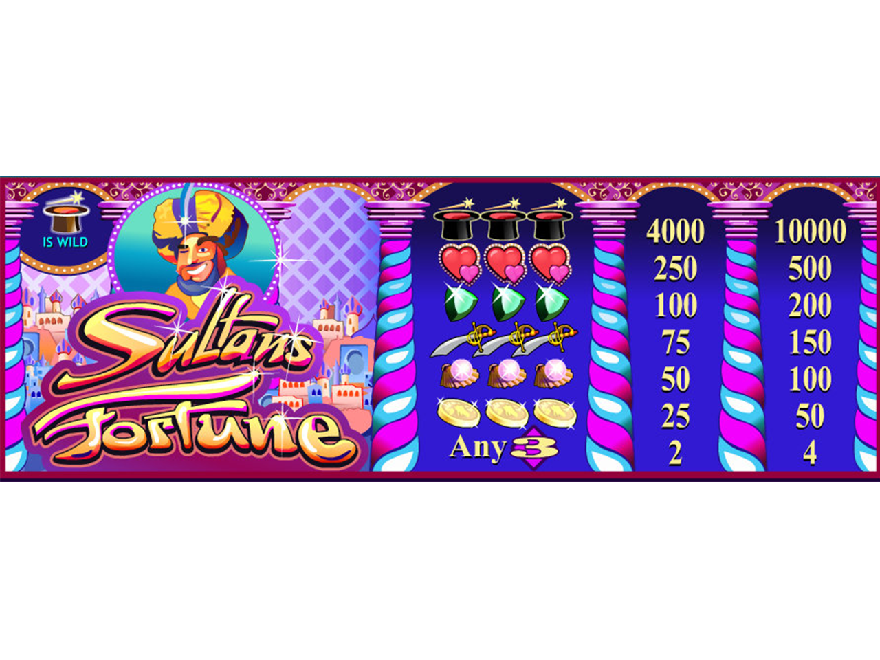 Sultan's Fortune online free