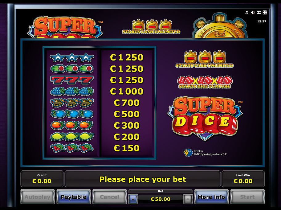 Super Dice online kostenlos