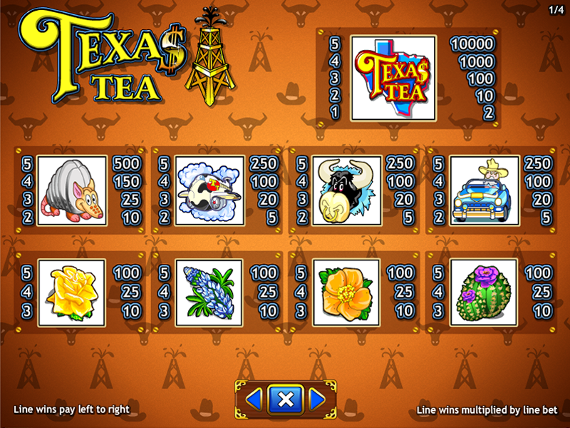 Texas Tea online gratis