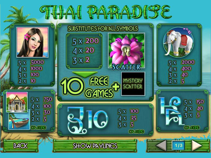 Thai Paradise online free