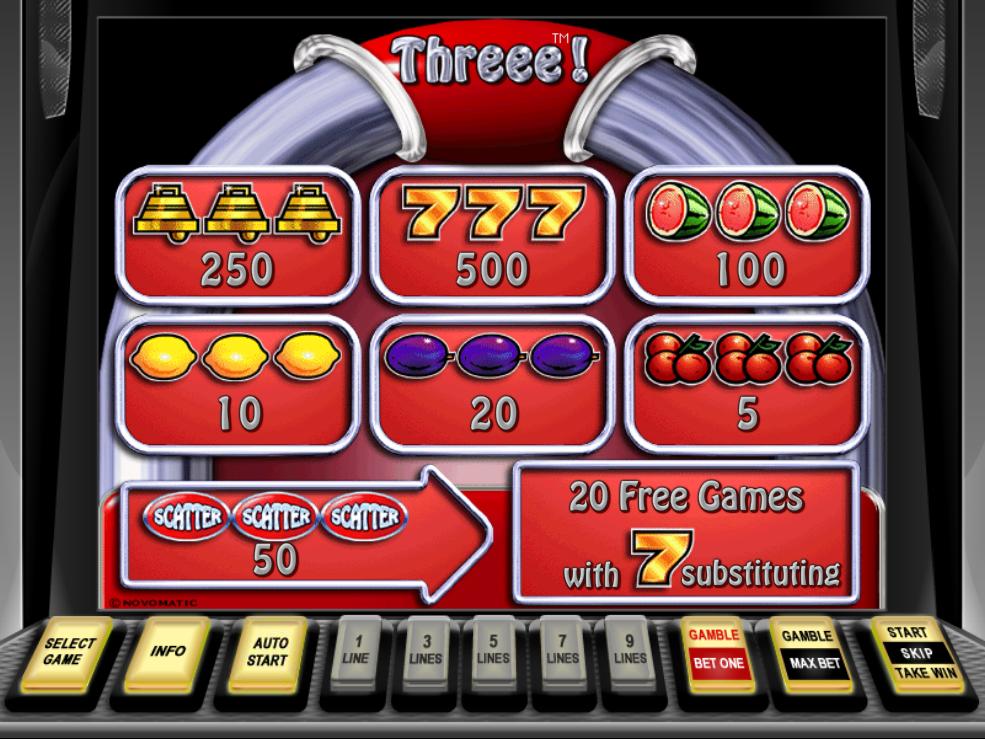 Threee! online free