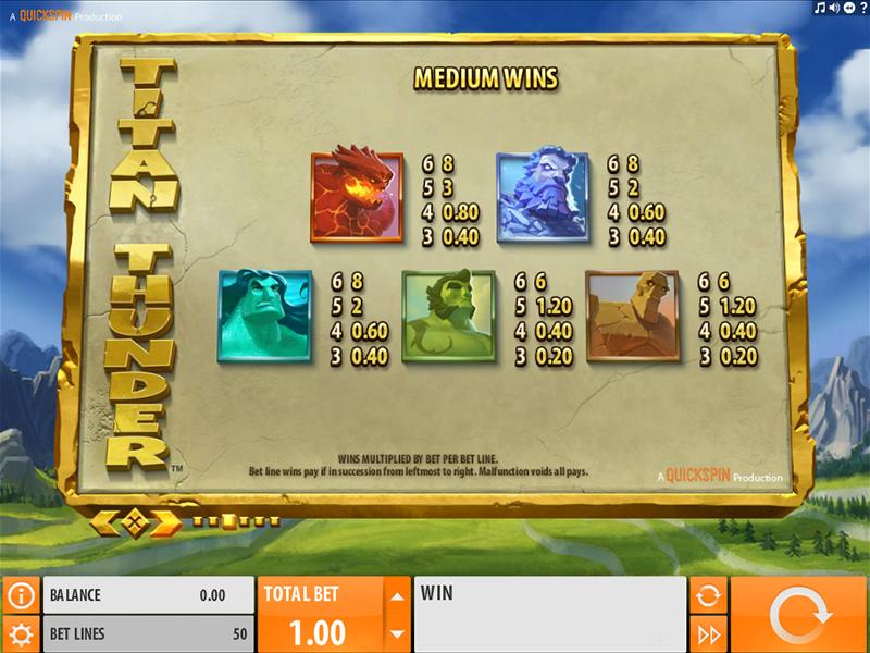 Titan Thunder online kostenlos