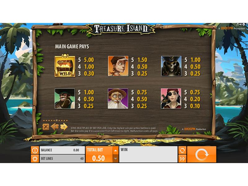 Treasure Island online free