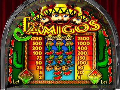 Tres Amigos online free