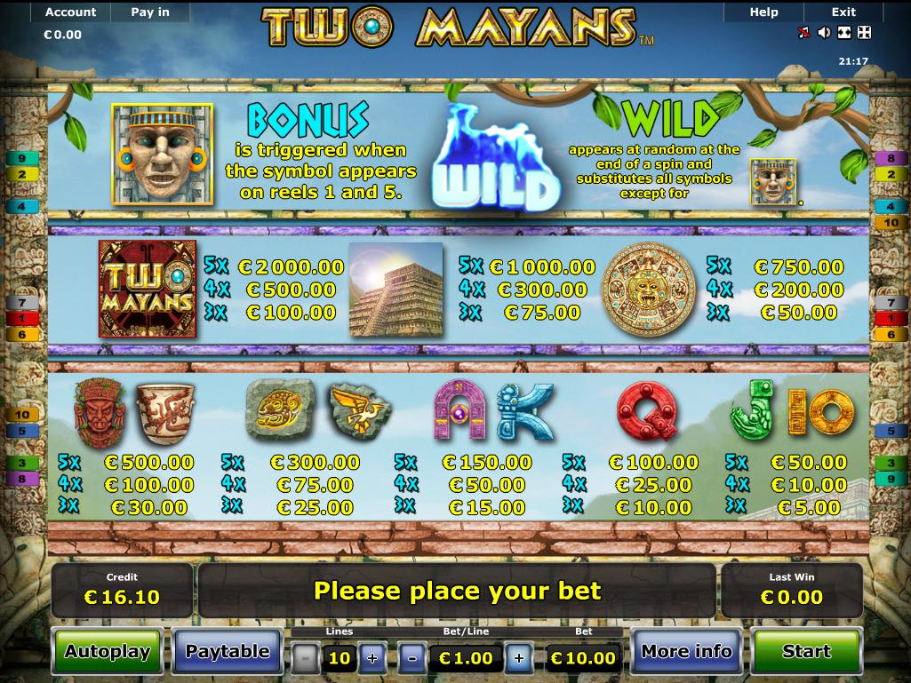 Two Mayans online kostenlos