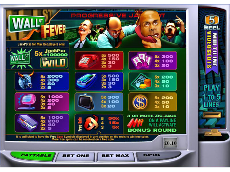 Wall Street Fever online free