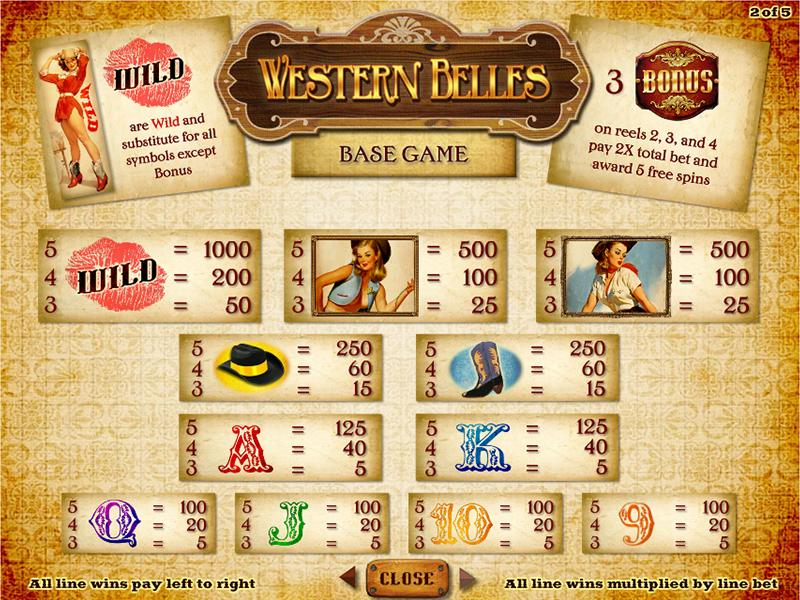 Western Belles online gratis