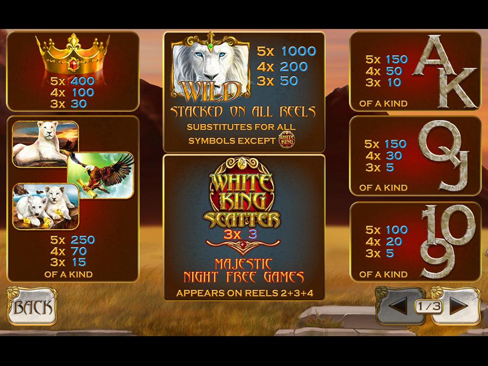 White King online free