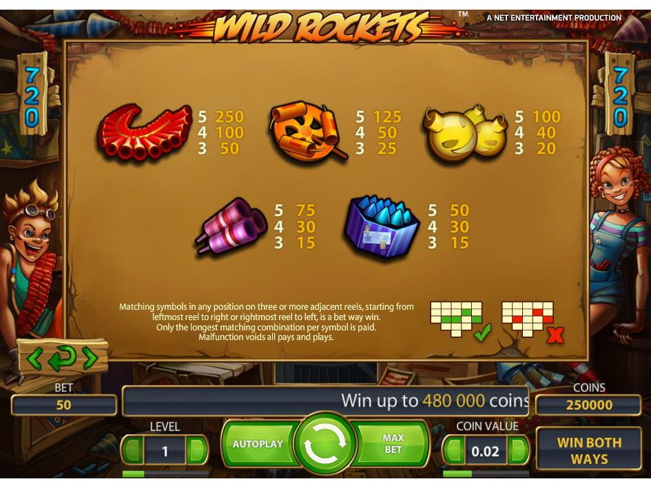 Wild Rockets online kostenlos