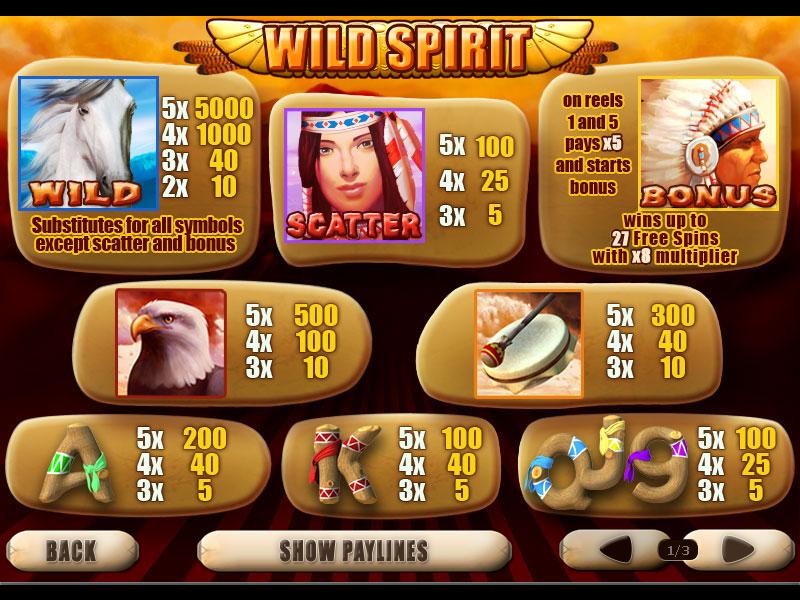 Wild Spirit online free