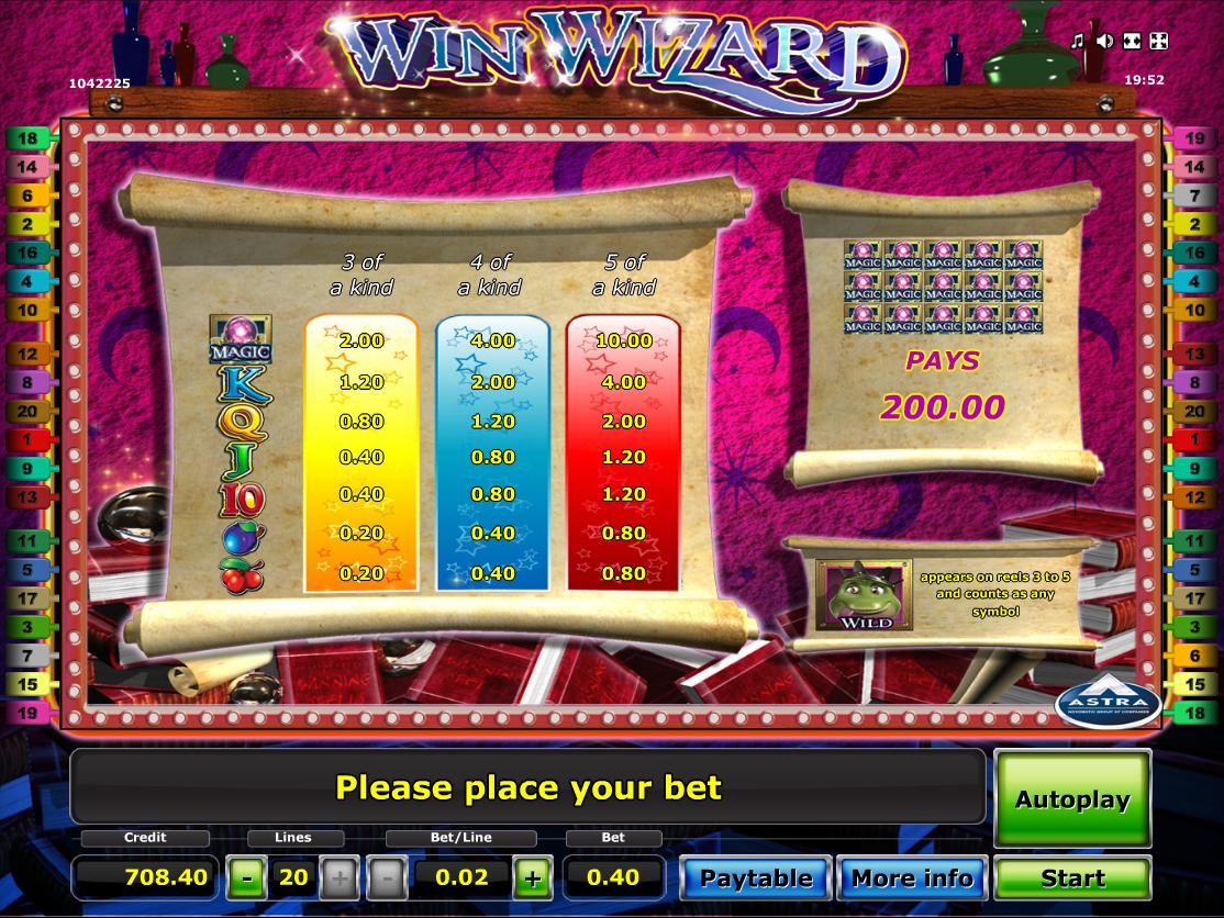 Win Wizard online free