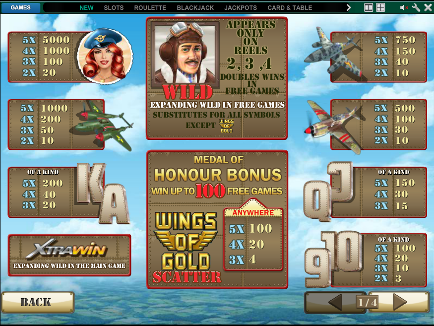 Wings of Gold online free