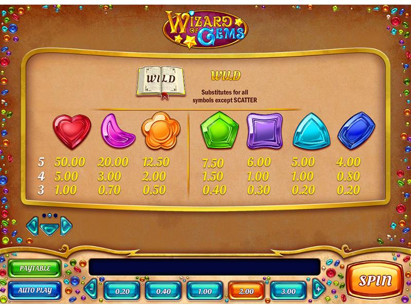 Wizard of Gems online gratis