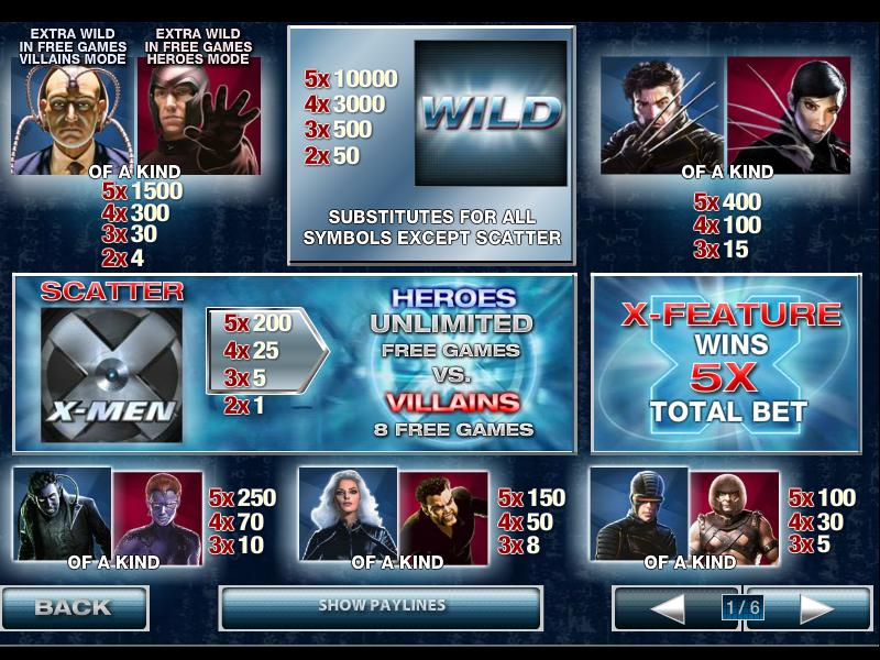 X-Men 50-Line online free