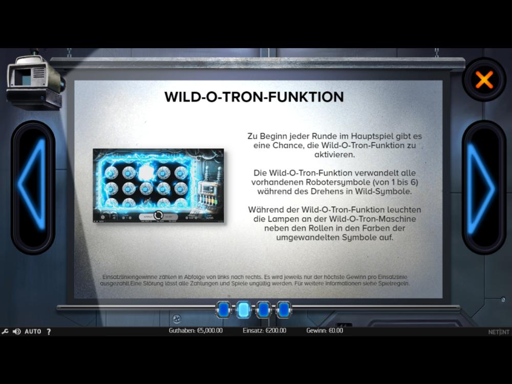 Wild-O-Tron 3000 online spielen