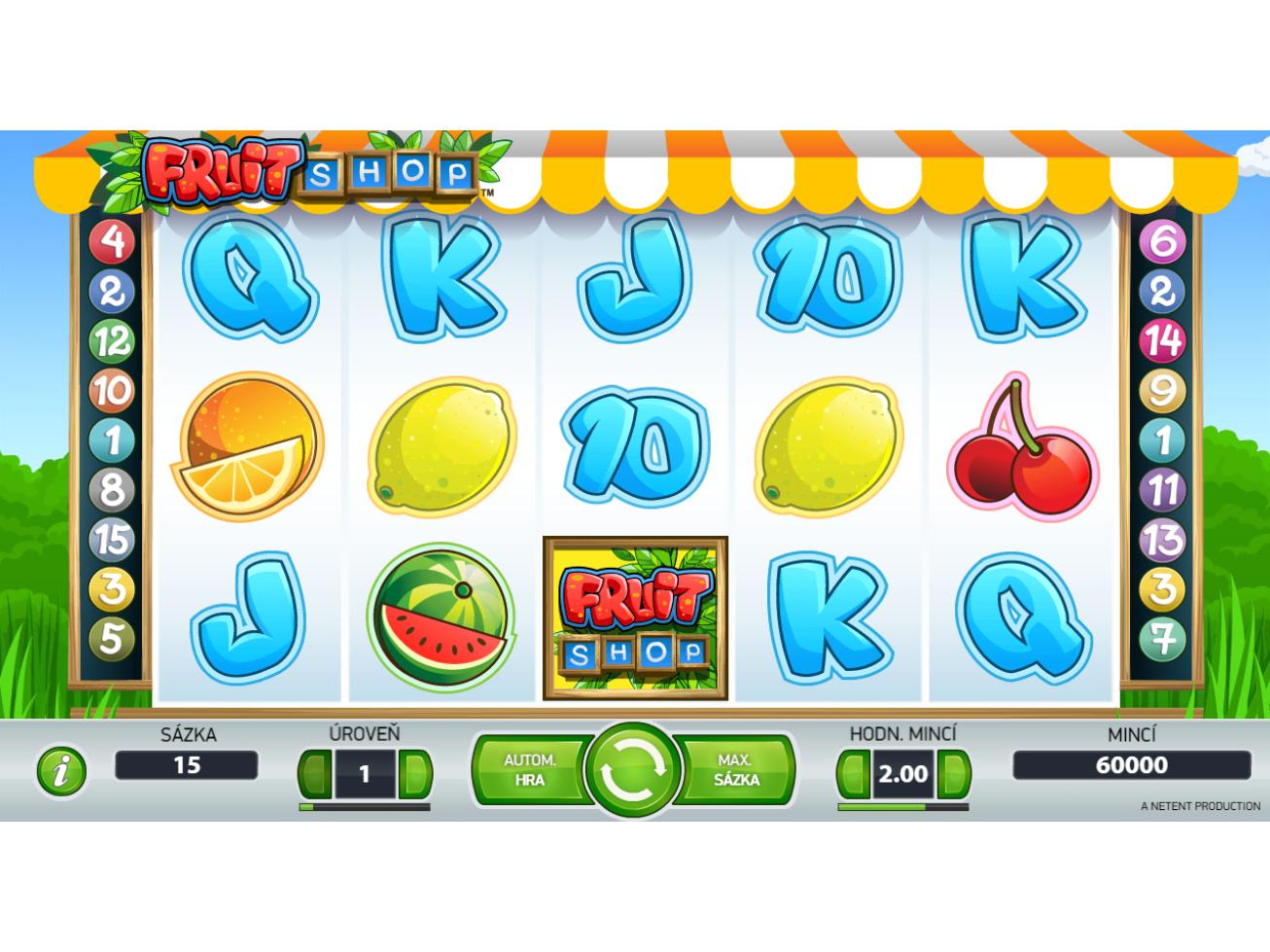 hrát Fruit Shop online#