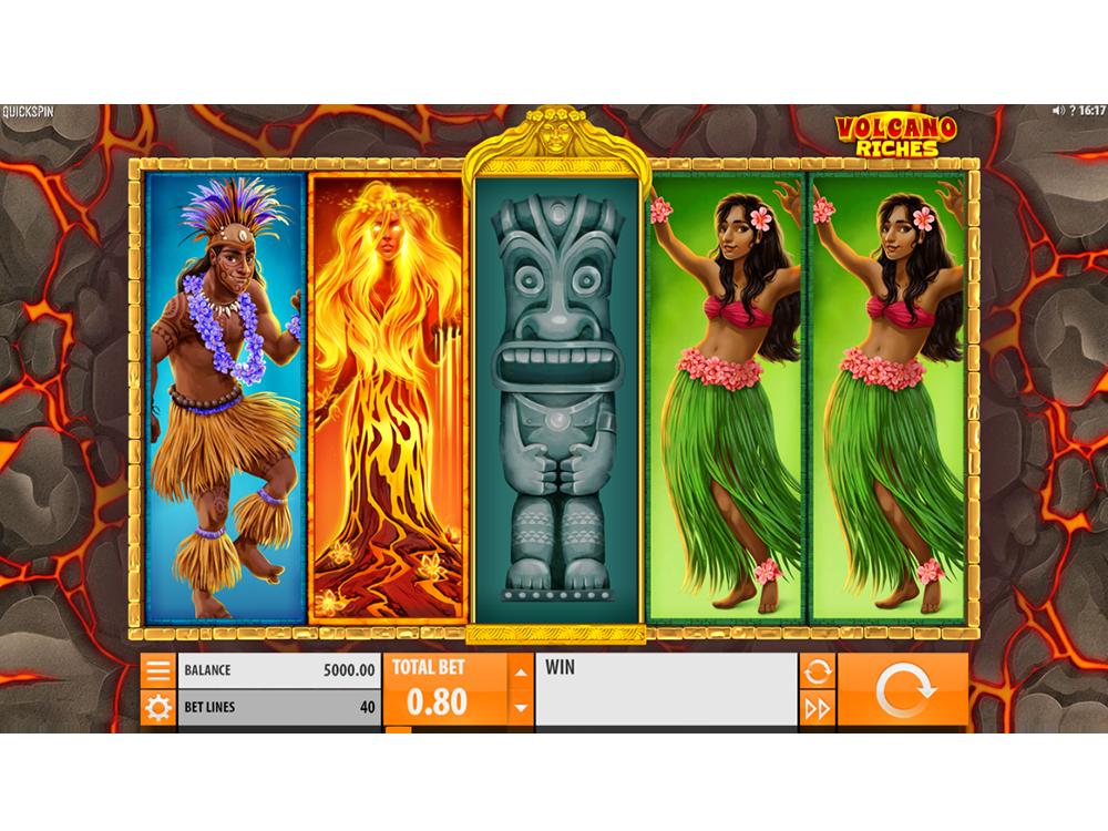 Spil Volcano Riches online