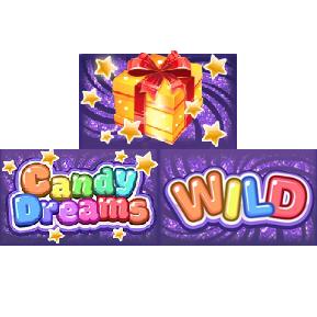 vind rigtige penge på Candy Dreams
