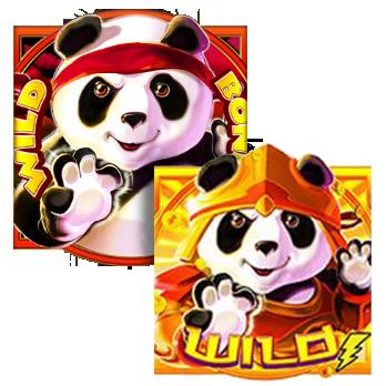 vind rigtige penge på Panda Pow!