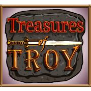 vind rigtige penge på Treasures of Troy
