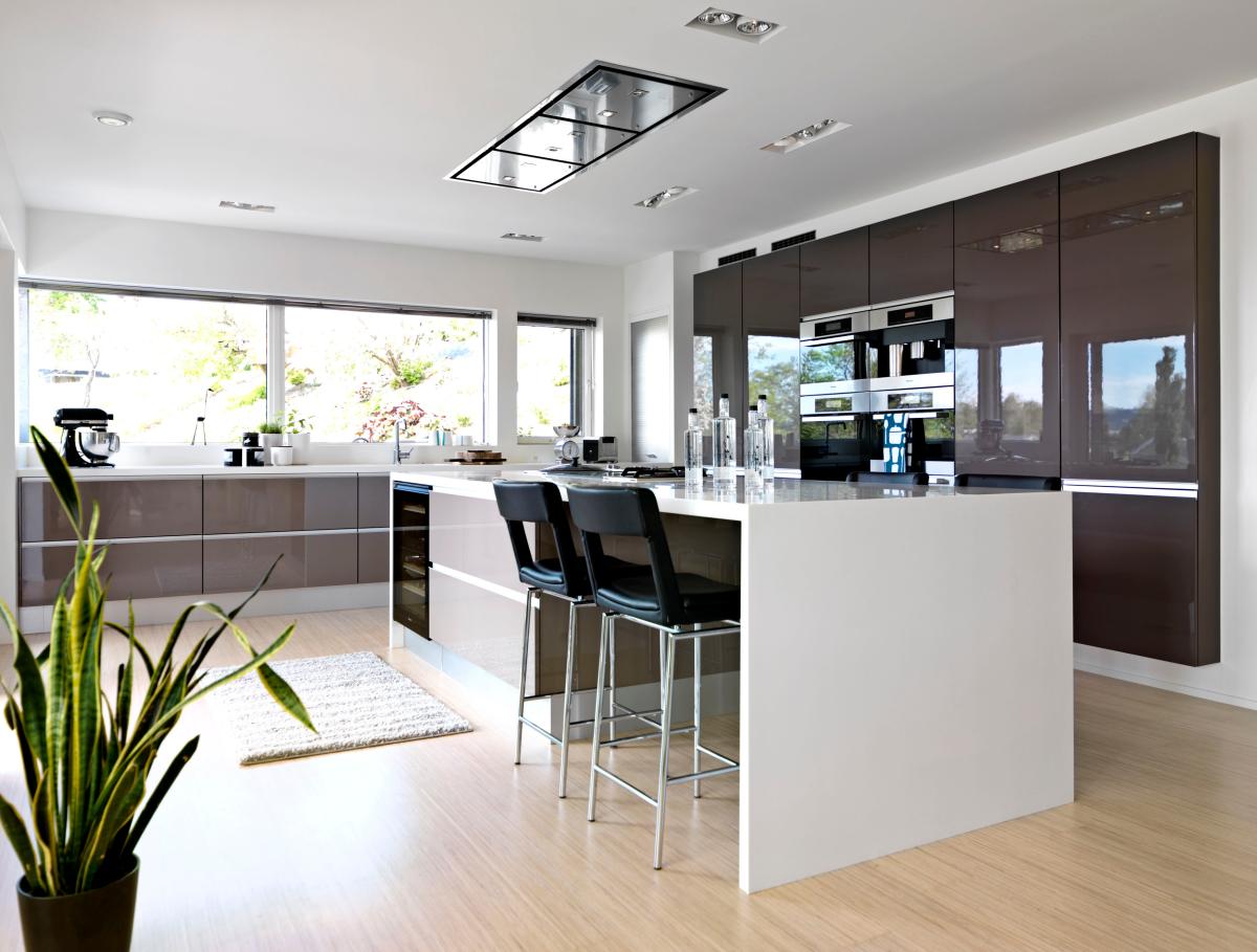 Klassiske kjøkken Moderne kjøkken Hvitevarer Tilbehør Kjøkkenveien ...