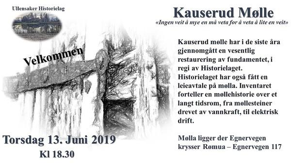 06. 13 Juni 2019 Omvisning på Kauserud mølle.jpg 7/6-2019