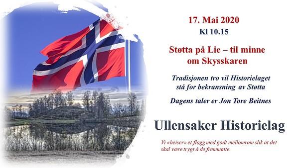 05. Støtta på Lie - 17. mai 2020.jpg 15/5-2020