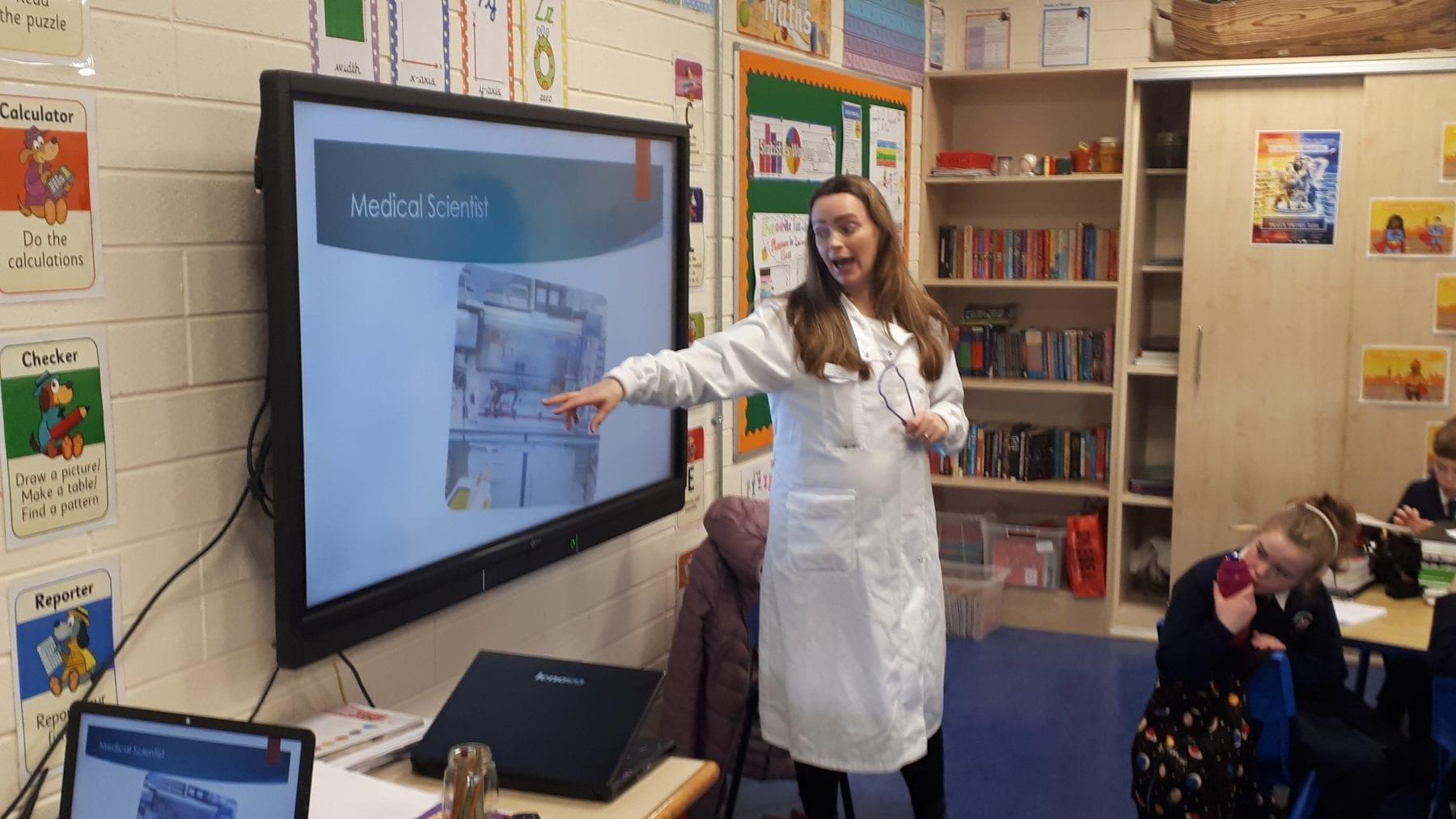 Scientist Visit