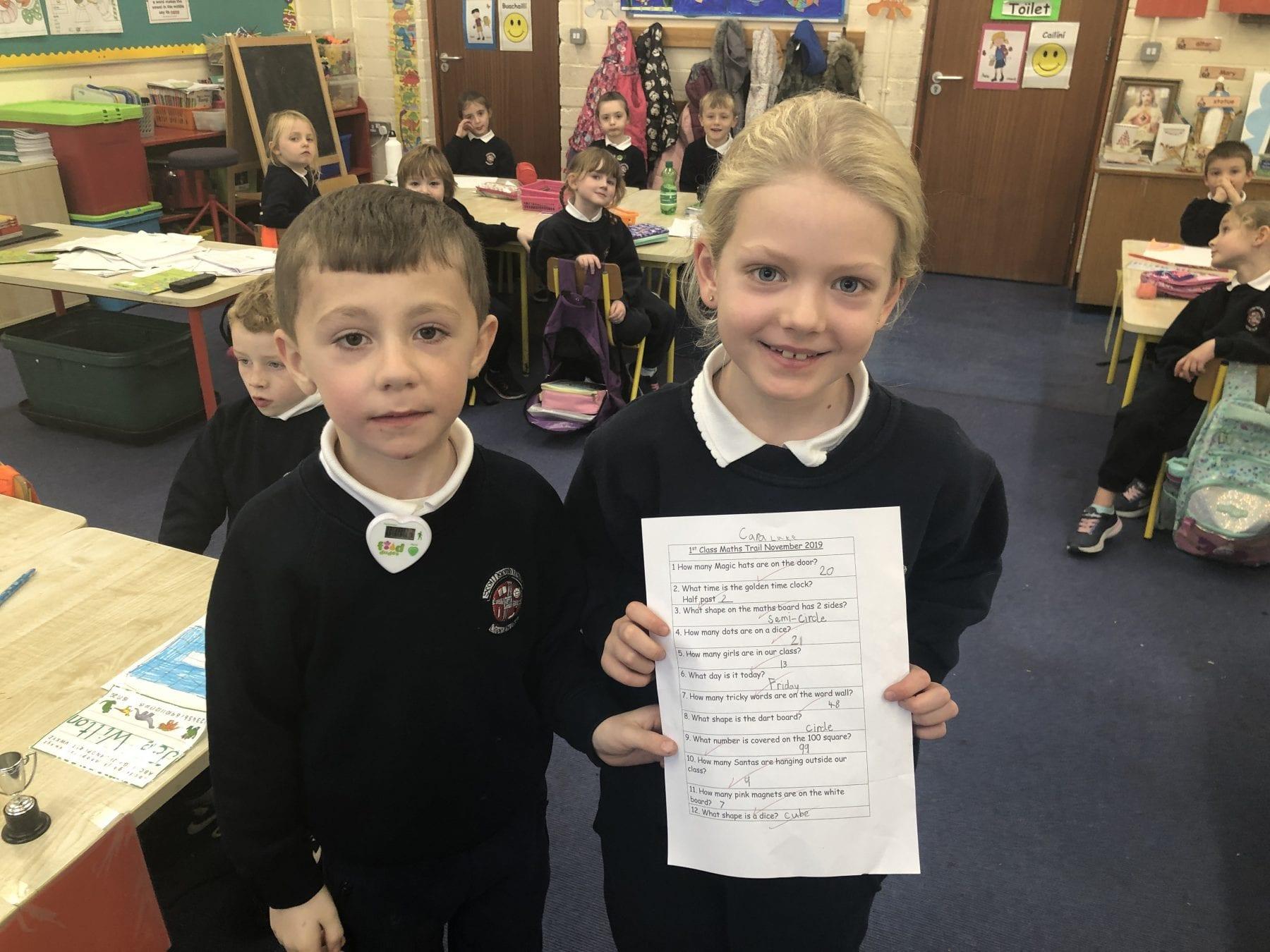 Maths Winners