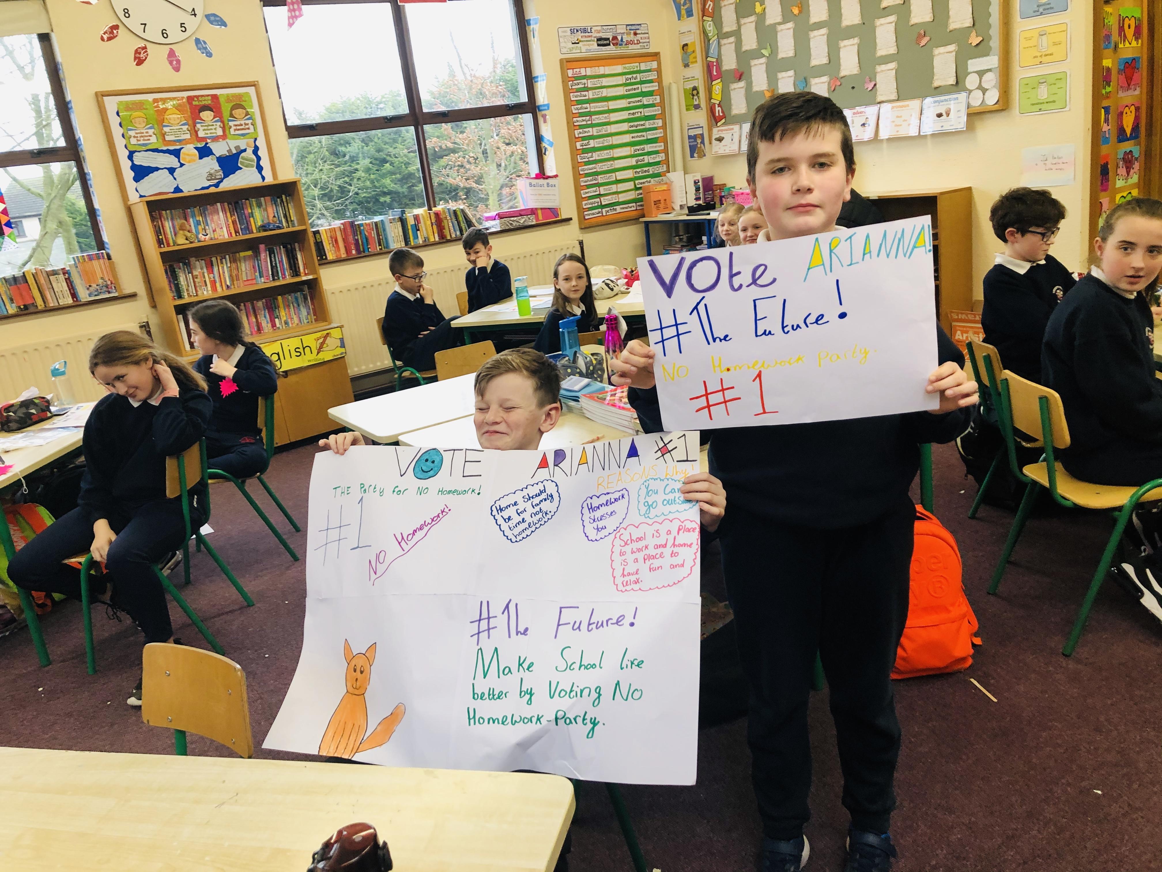 Classroom Campaigners!