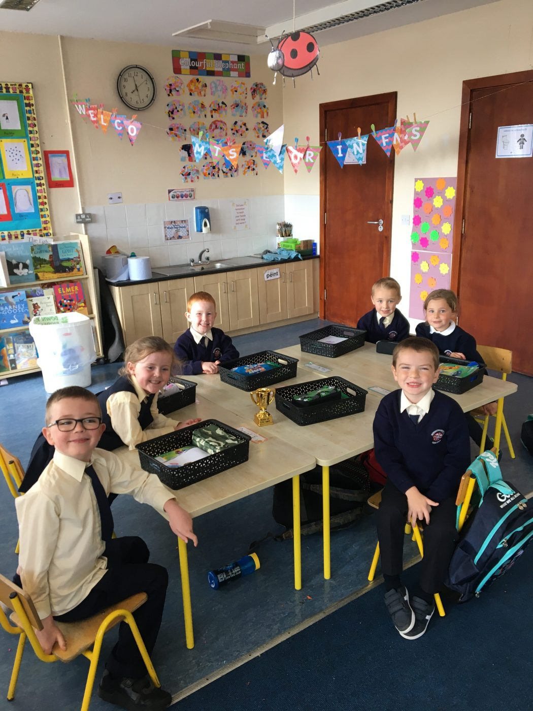 Busy Week in Senior Infants!
