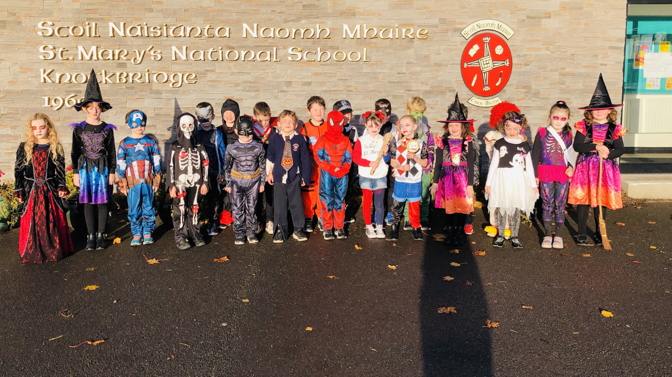 Happy Halloween from Senior Infants.