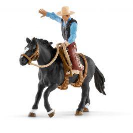 Schleich_Saddle_Bronc_Riding_Cowboy