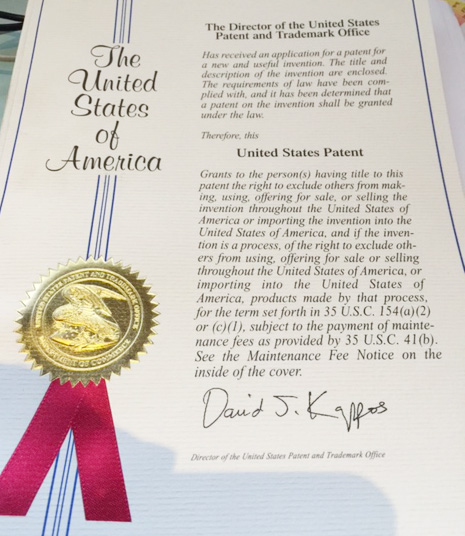 Patent EFP Ecofireprotection