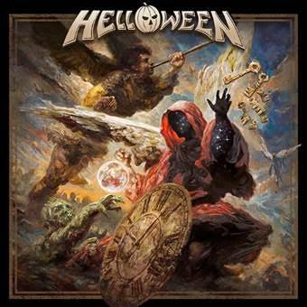 HELLOWEEN - S/T 2021 Album, Limited Gold vinyl 2LP (2LP)