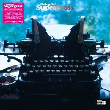 SUPERGRASS - GOING OUT 25th Anniv. burgundy/silver vinyl, RSD21 6 Track EP (LP)