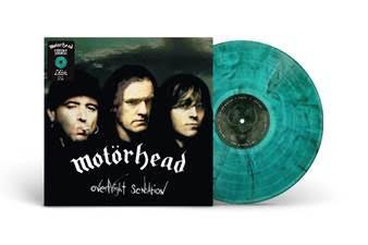MOTÖRHEAD - OVERNIGHT SENSATION Green and black smoke vinyl, Limited 25th Anniv. (LP)