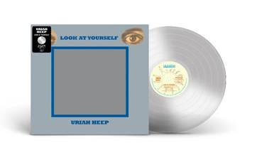 URIAH HEEP - LOOK AT YOURSELF 50th anniversary ed. Clear vinyl (LP)
