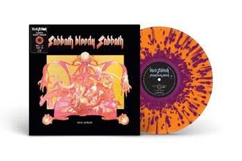 BLACK SABBATH - SABBATH BLOODY SABBATH Limited Orange/Purple splatter reissue (LP)