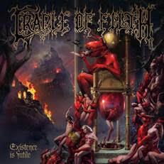 CRADLE OF FILTH - EXISTENCE IS FUTILE 2021 album, black vinyl (2LP)