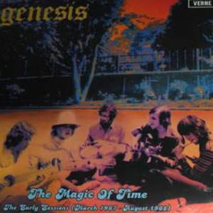 GENESIS - THE MAGIC OF TIME French 2013 compilation, early sessions, yellow vinyl. Still sealed! (LP)