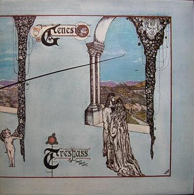GENESIS - TRESPASS UK mid-70:s re-issue (LP)